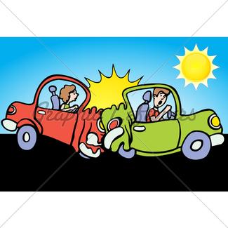 325x325 Mascot Car Crash Gl Stock Images