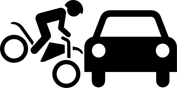 598x298 Motorcycle Accident Compensation Clip Art Free Vector In Open