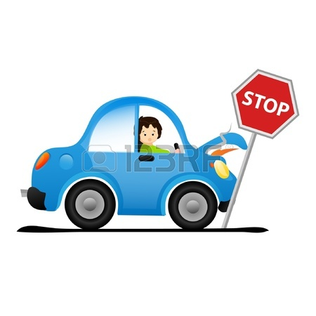 450x450 Sketch Of The Car Accident On White Background Royalty Free