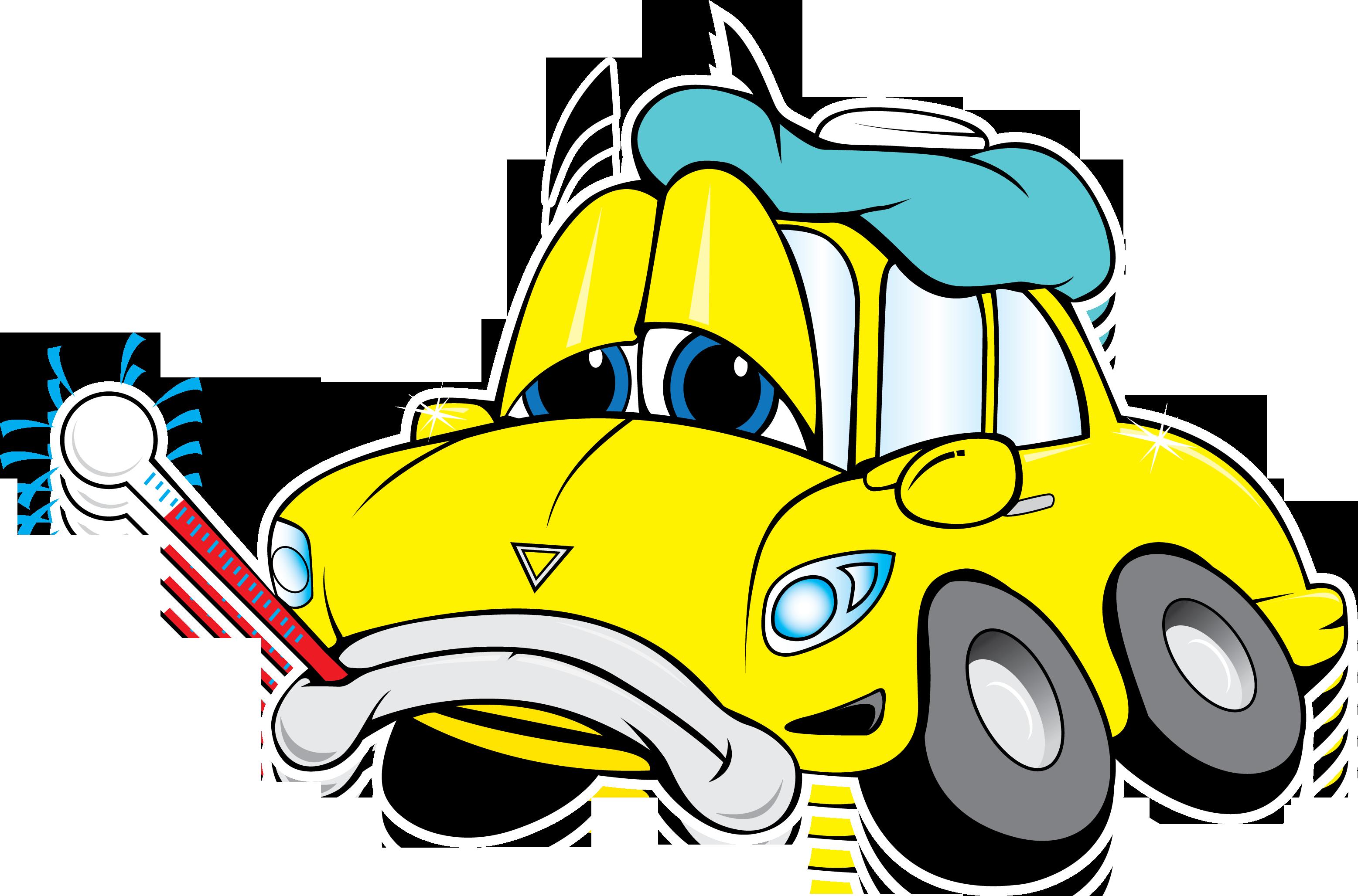 3114x2056 Cartoon Car Engine