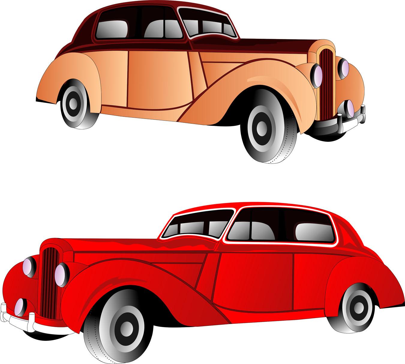 1350x1212 Classic Car Engine Clipart