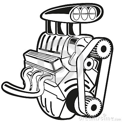 Car Engine Clipart