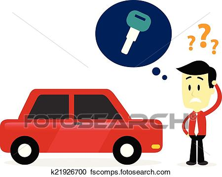 450x359 Clipart Of Miss A Car Key K21926700