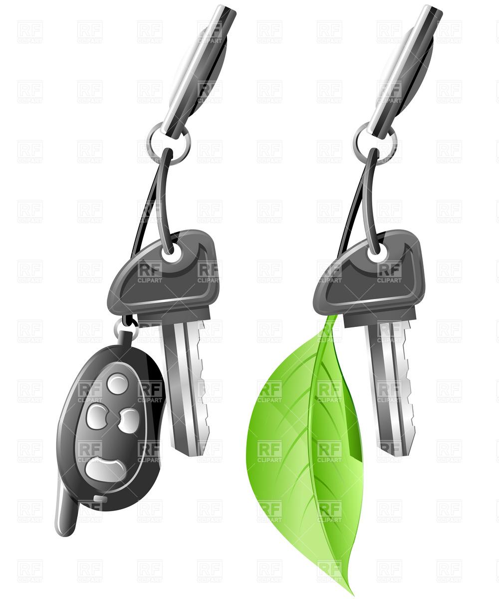 1000x1200 Eco Car Key Royalty Free Vector Clip Art Image