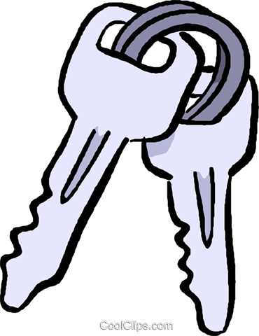 370x480 Car Keys Royalty Free Vector Clip Art Illustration Vc017652