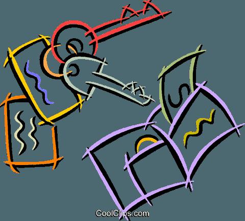 480x434 Car Keys An A Wallet Royalty Free Vector Clip Art Illustration
