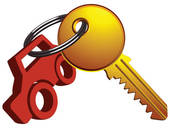 170x128 Car Key Clip Art