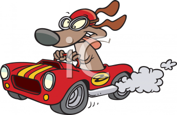 350x228 Clip Art Race Car