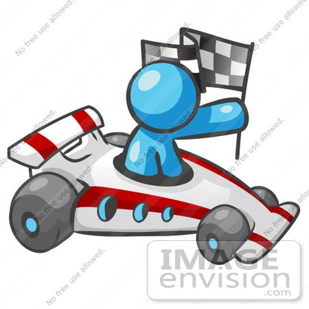 450x450 Clip Graphic Blue Character Racing 35866 Autoracing Jos