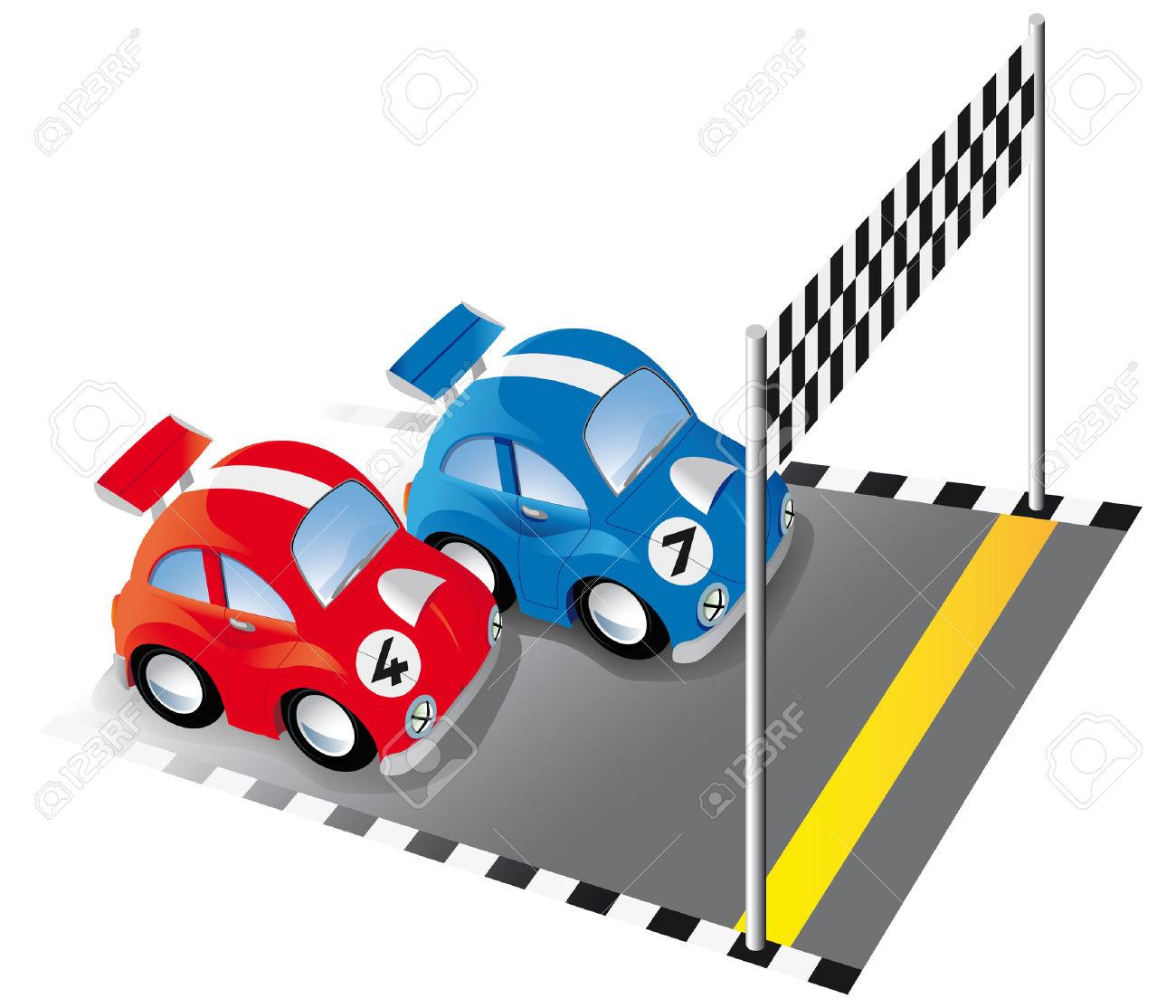 1300x1114 Car Race Clipart
