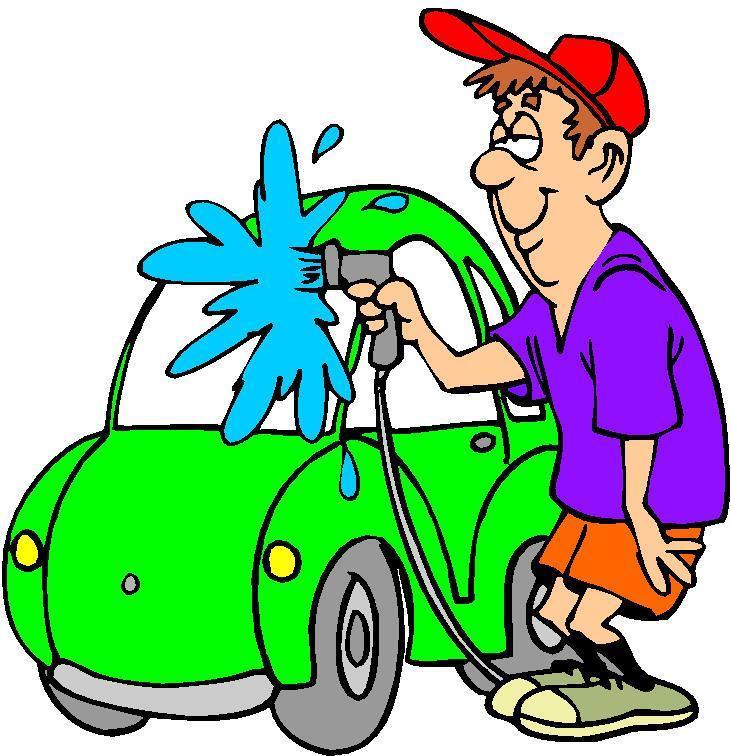 731x756 Car In Automatic Car Wash Clipart