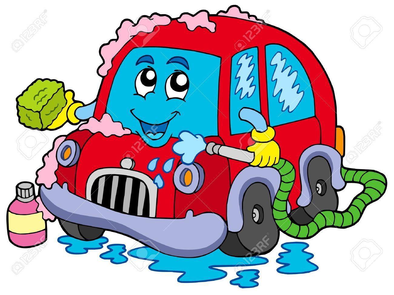 1300x973 Cartoon Car Wash