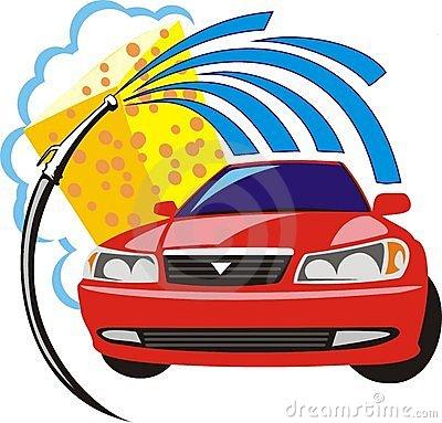 400x383 Cartoon Car Wash Stock Vector Image