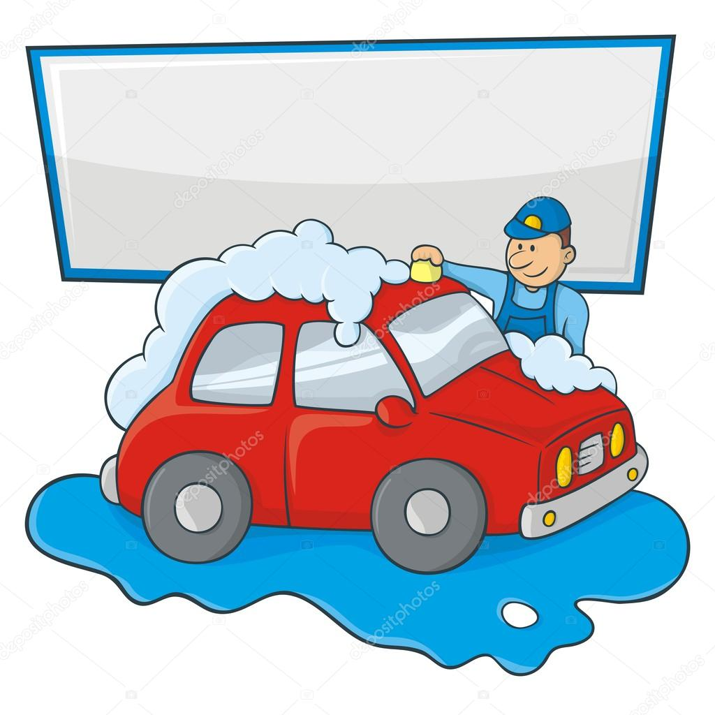1024x1024 Picture Of A Car Wash Cartoon
