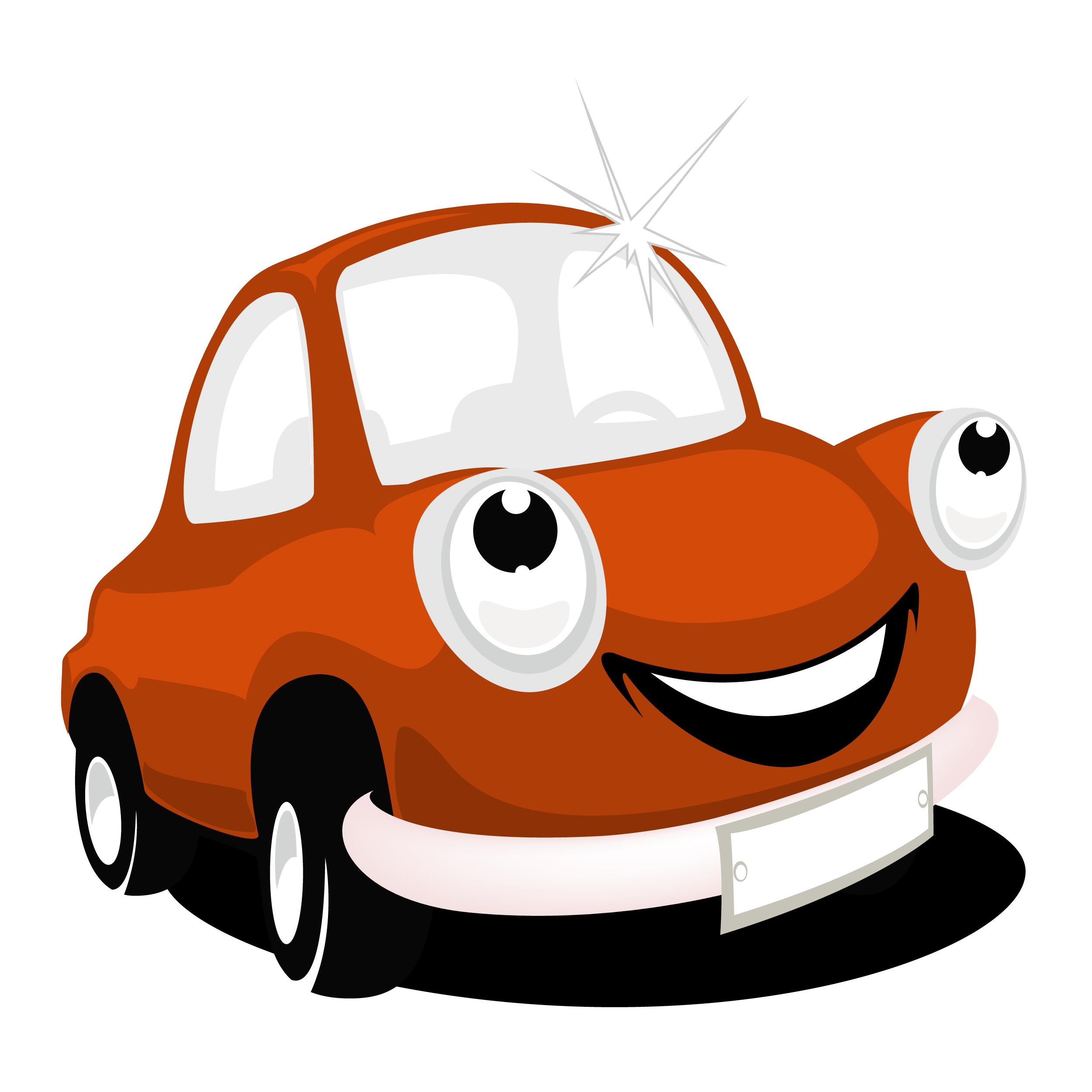 2500x2500 Free Cartoon Car Clipart