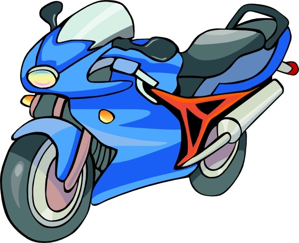 600x489 Motorcycle Clip Art Free Vector In Open Office Drawing Svg ( Svg