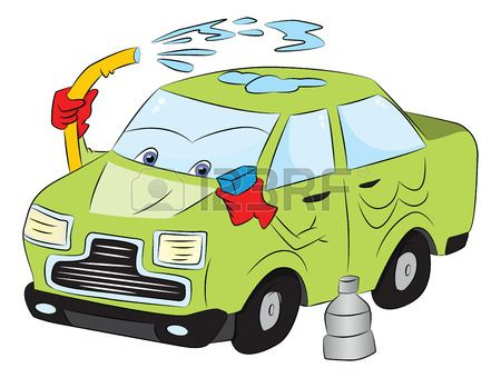Car Washing Clipart