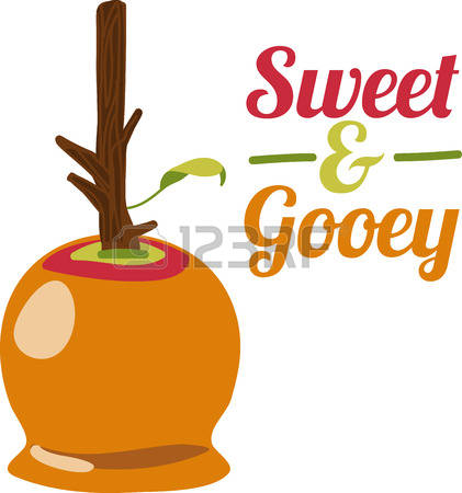 421x450 Free Caramel Apple Clipart