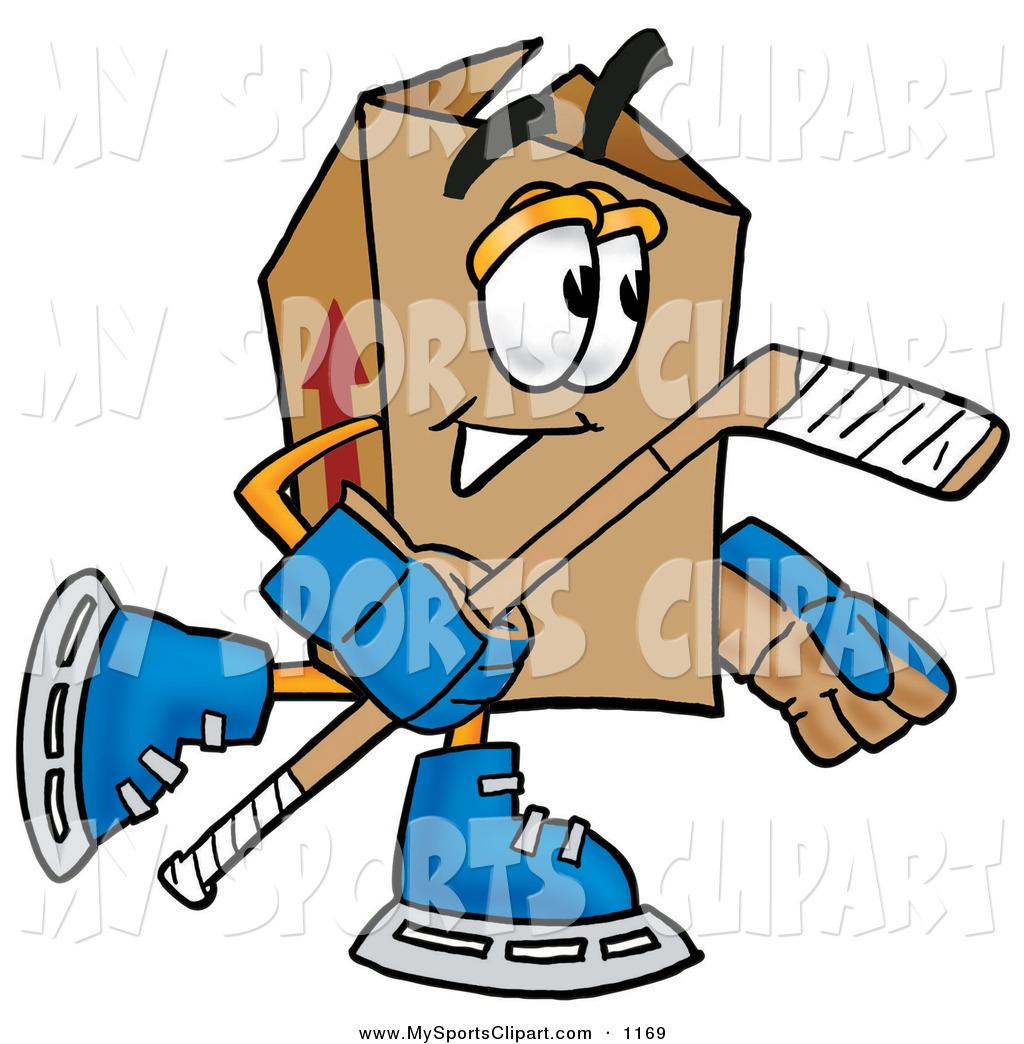 1024x1044 Sports Clip Art Of A Cardboard Box Mascot Cartoon Character