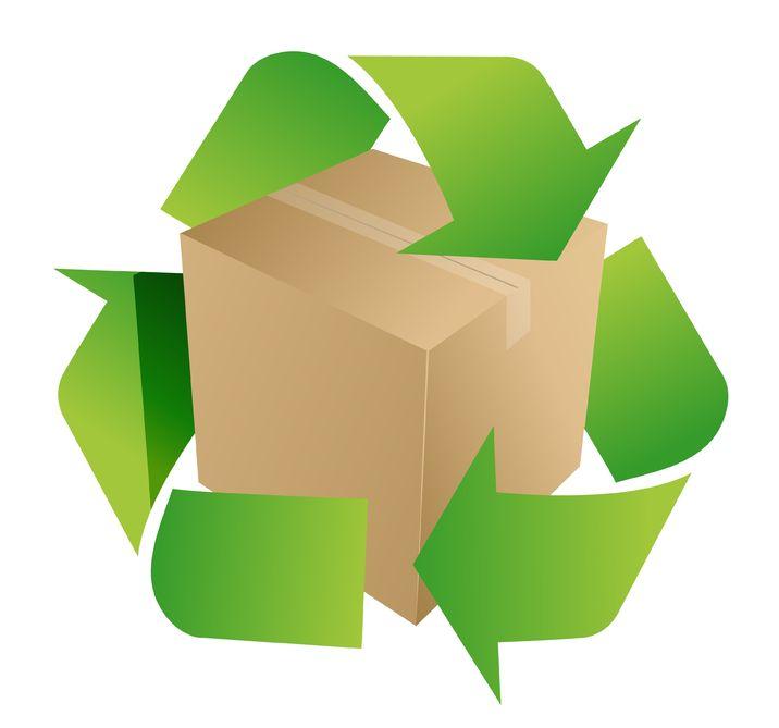 716x669 Cardboard Recycling Clip Art Cliparts