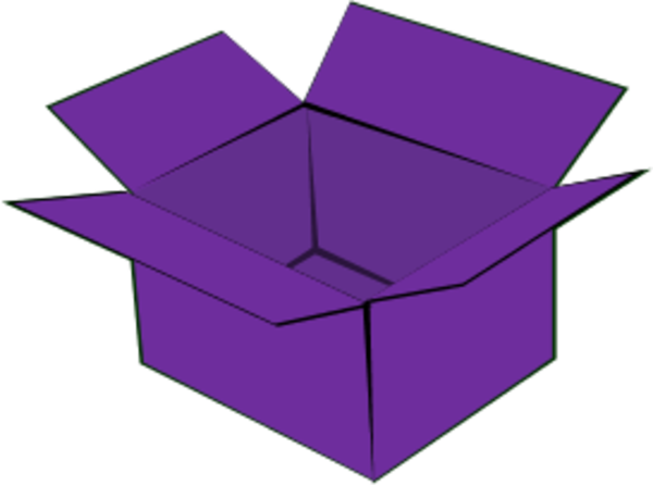 600x446 Cardboard Box Open Cardboard Clipart 2