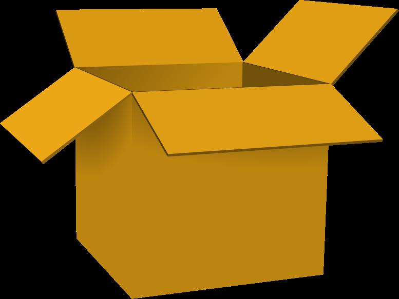 777x583 Cardboard Box Open Cardboard Clipart The Cliparts