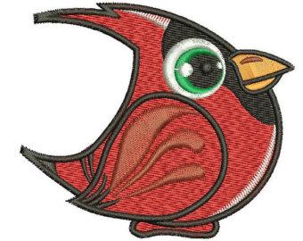 340x270 Cardinal Bird Logo Etsy