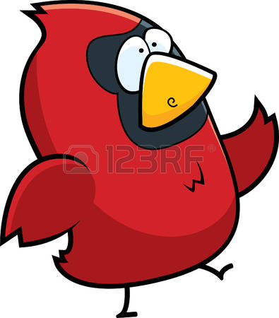 395x450 Cardinal Clipart Funny