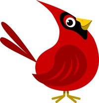 200x208 Cardinal Clipart Red Thing