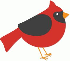236x207 Clip Art Illustration Of A Red Cardinal Bird Sitting On A Branch