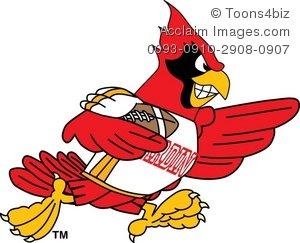 300x243 Cardinal Clip Art