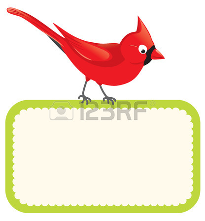 416x450 1,634 Cardinal Bird Cliparts, Stock Vector And Royalty Free