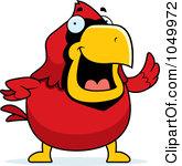 165x150 Cute Cardinal Clipart
