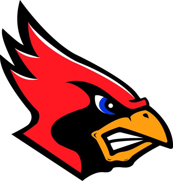 572x600 Cardinal Mascot Logo Clip Art Cliparts