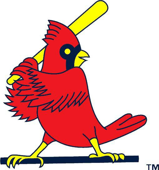 510x545 Late 80's Early 90's St. Louis Cardinals Bird Logo. Cardinals