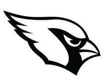 214x170 Arizona Cardinal Logo Clip Art