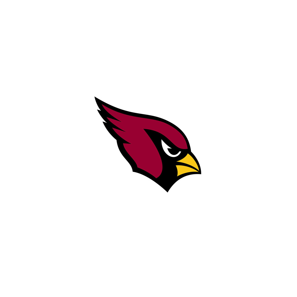 1024x1024 Arizona Cardinals White Words Ipad 1024small Photo