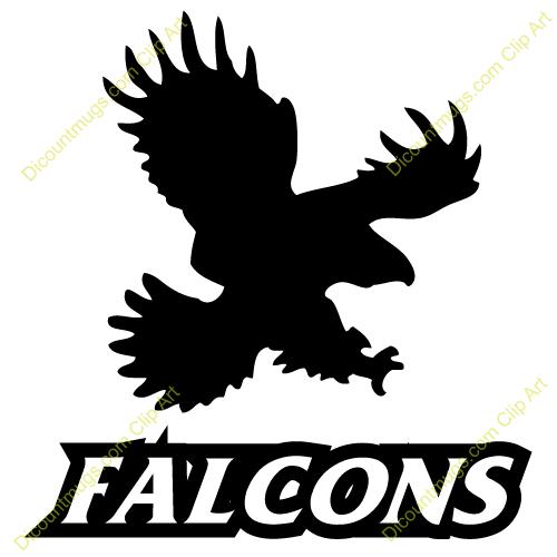500x500 Free Falcon Clipart