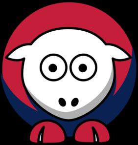 282x297 Sheep St Louis Cardinals Team Colors Clip Art