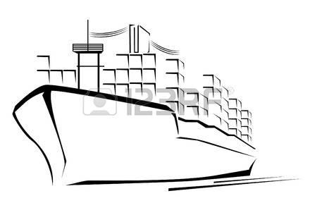 450x288 Merchant Ship Clipart