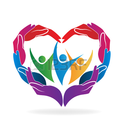 428x450 Love And Caring Clipart