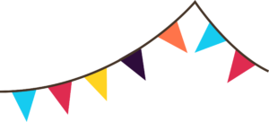 300x136 Carneval Clipart Flag Banner