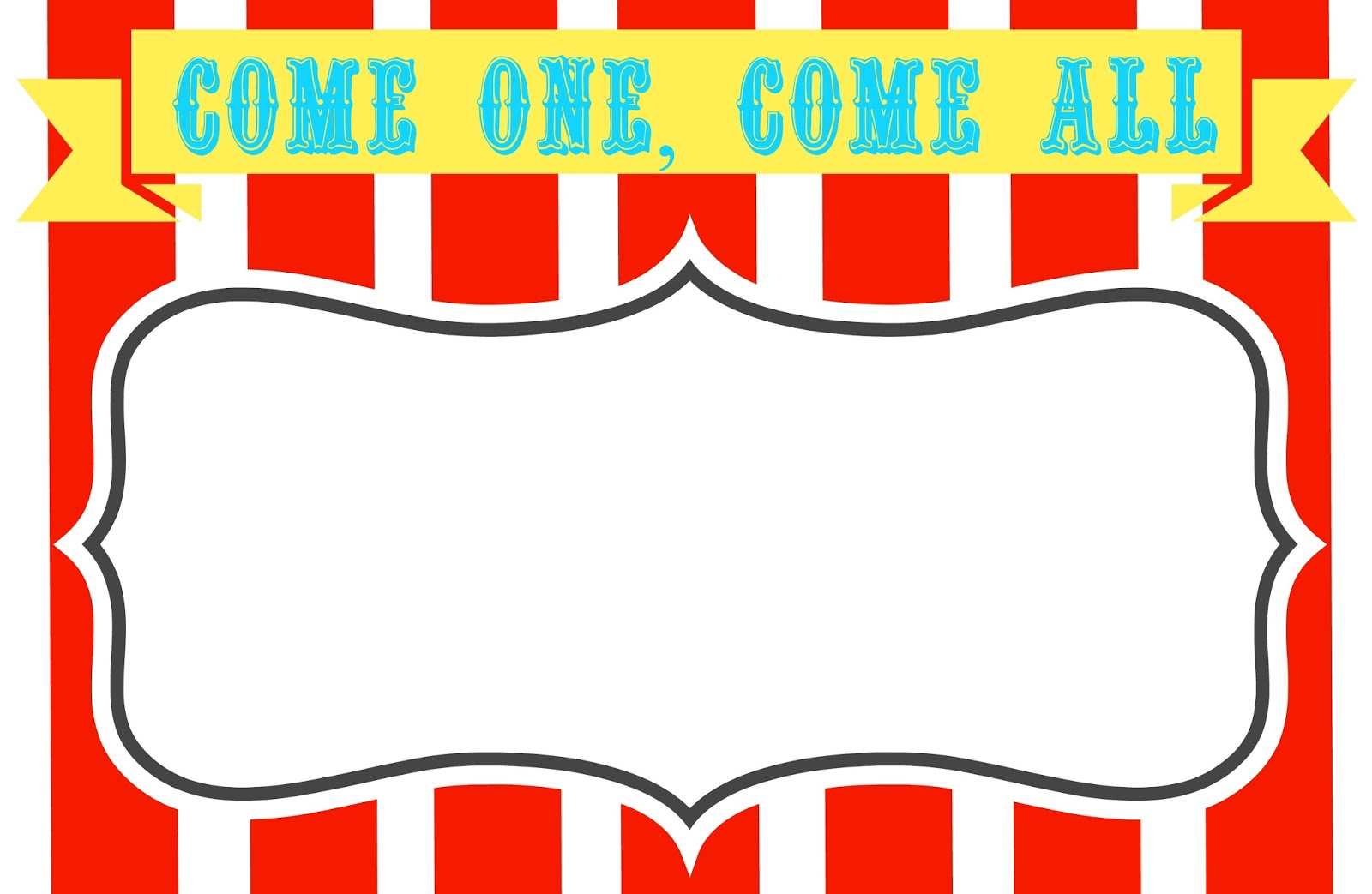 1600x1043 Carnival Signs Template Clipart