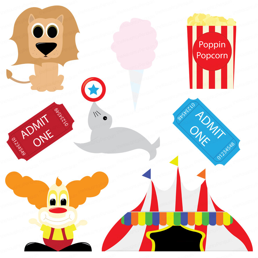 900x900 Circus Tickets Clipart