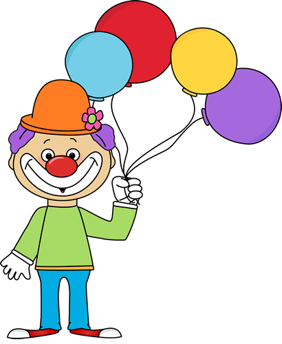 410x500 Balloon Clip Art Clown With Balloons Clip Art New Picture