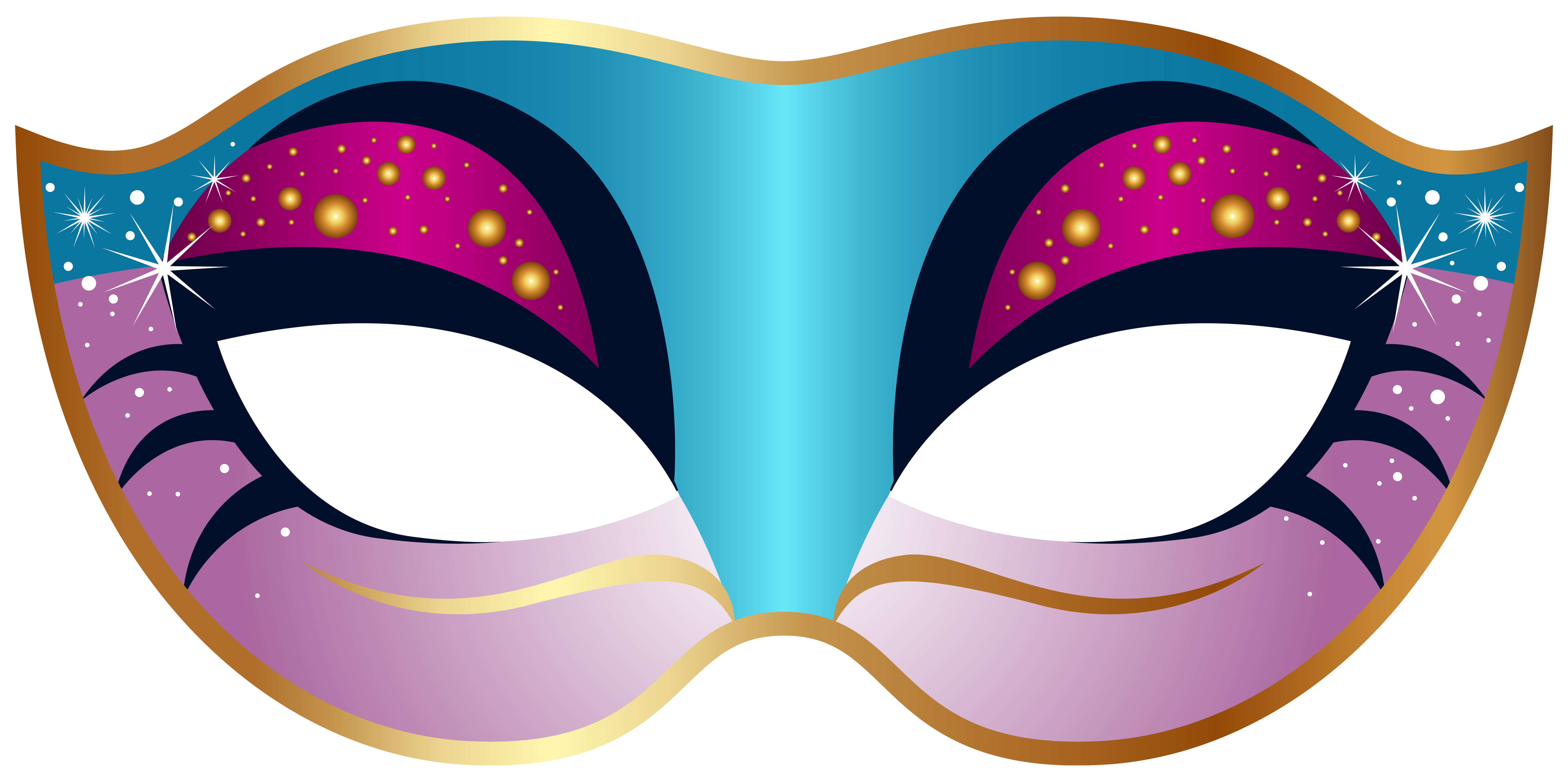 6230x3108 Blue And Pink Carnival Mask Png Clip Art Imageu200b Gallery