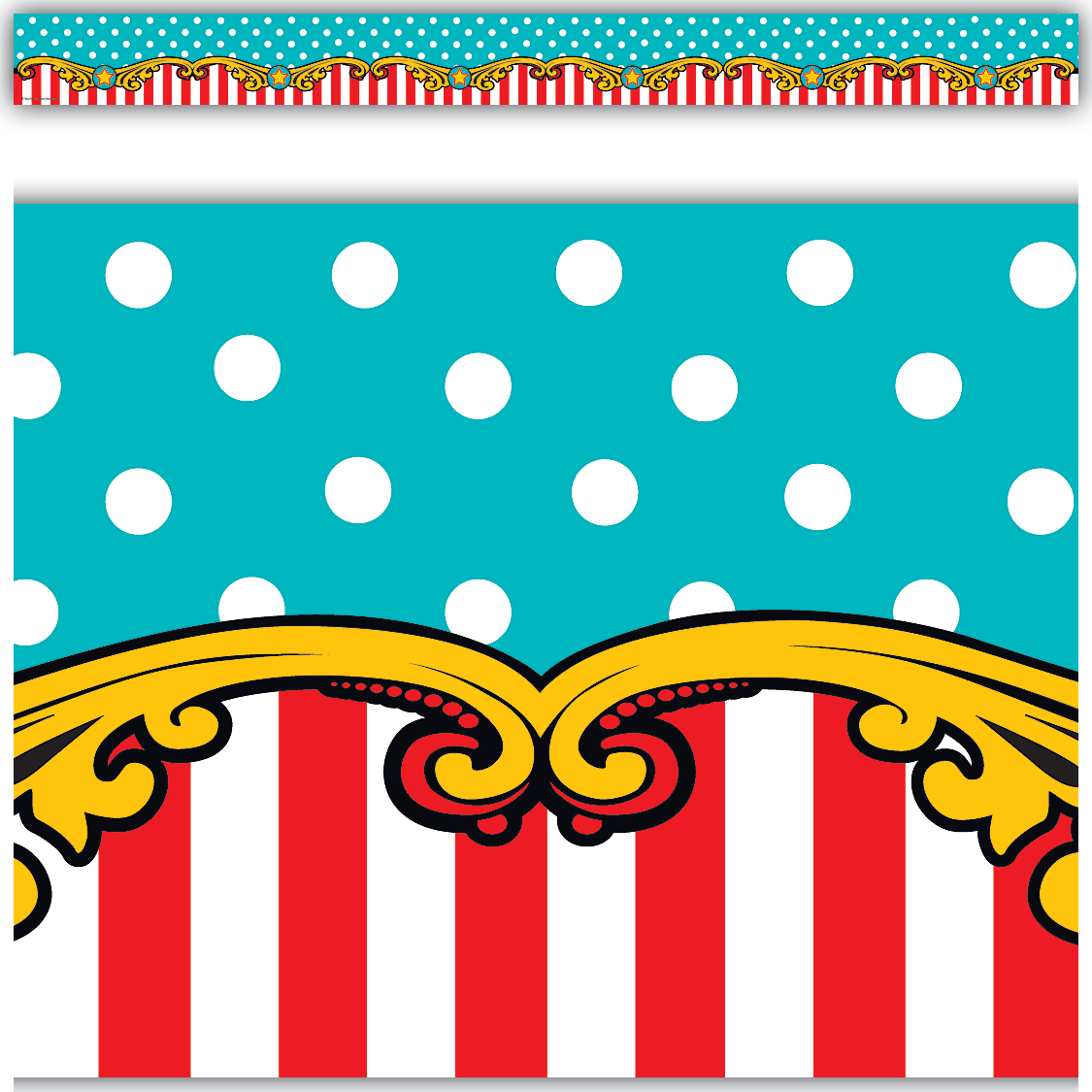 1125x1125 Carnival Straight Border Trim Class Projects, Carnival