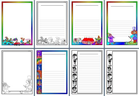 448x309 Circus Theme Teaching Resources, Printable Banners, Borders And More