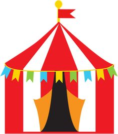 236x269 Vector Illustrations Of Bigtopcarnival Circus Tents.tents Are