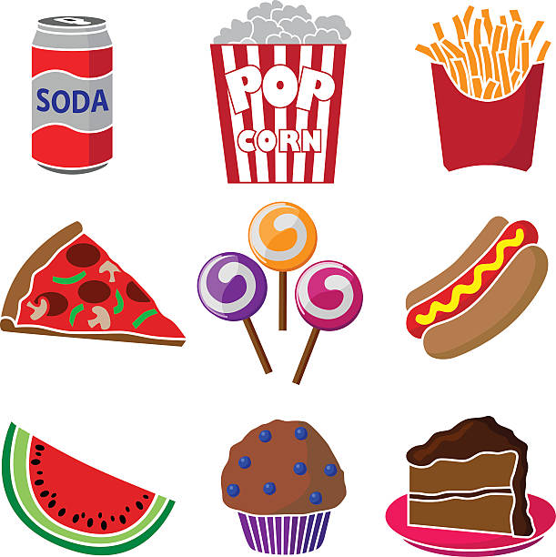 611x612 Carnival Food Clipart